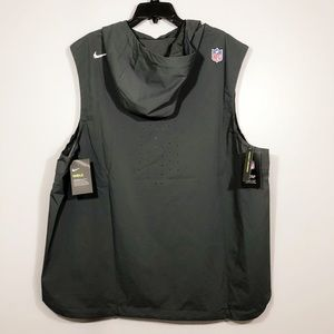 New Nike Shield NFL Windbreaker Anorak Jacket Vest
